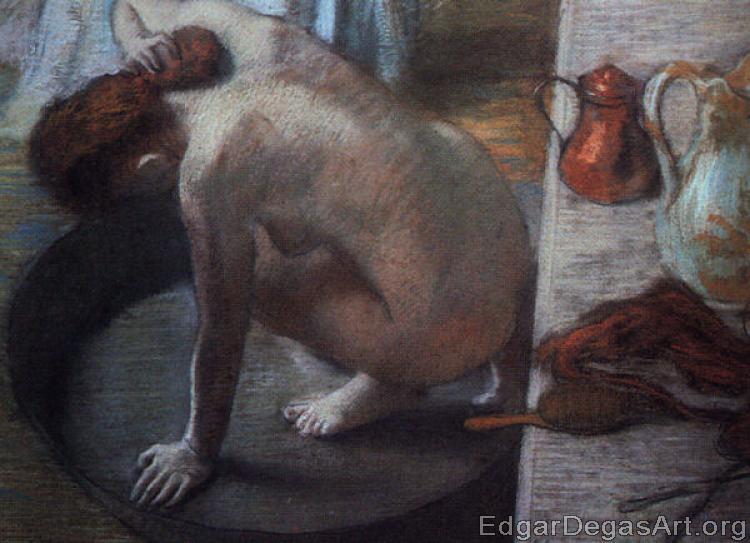 Edgar Degas - The Tub
