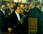 Edgar Degas : The Orchestra of the Opera