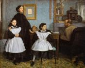 Edgar Degas : The Belleli Family II