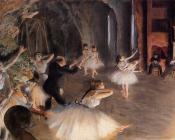 The Rehearsal of the Ballet on Stage II