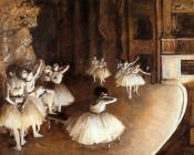 The Rehearsal of the Ballet on Stage III